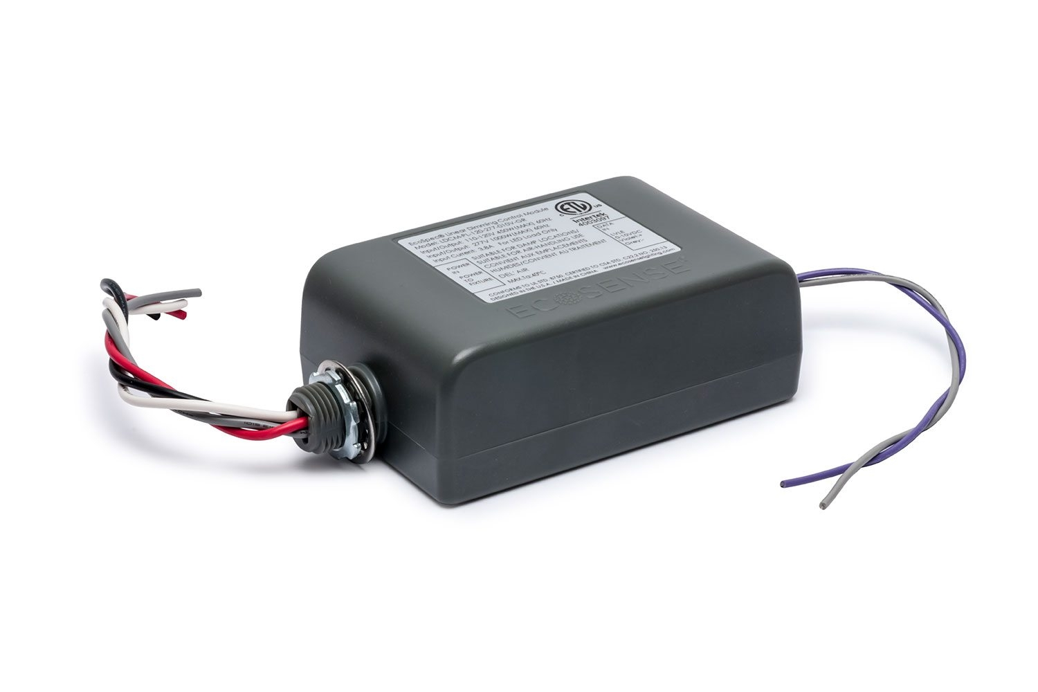 EcoSpec® Linear Dimming Control Module Plenum Rated