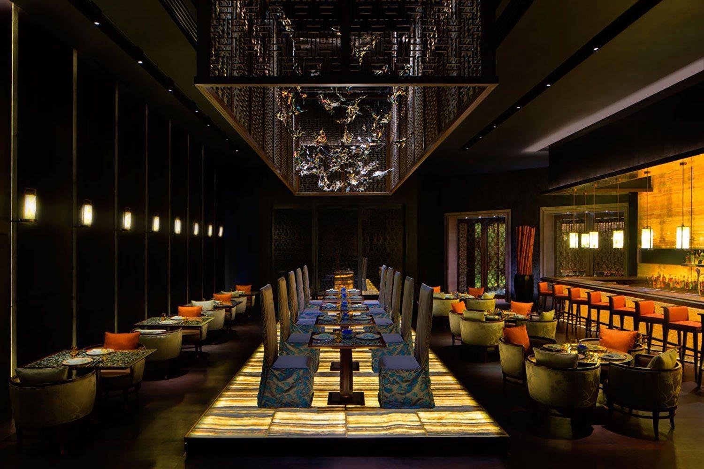 Yuan Restaurant Atlantis The Palm Ecosense Lighting