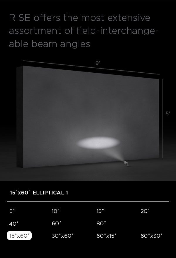 RISE 15 x 60 Degree Elliptical 1