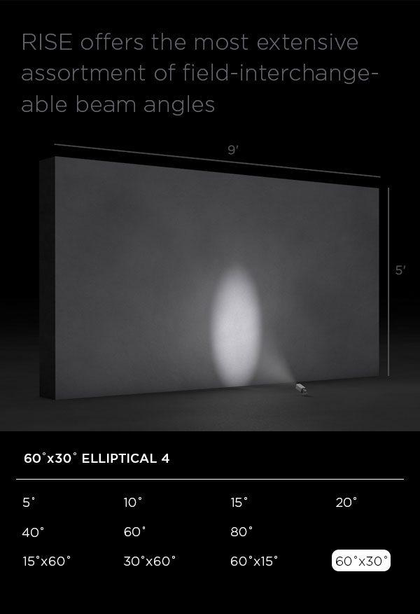 RISE 60 x 30 Degree Elliptical 4