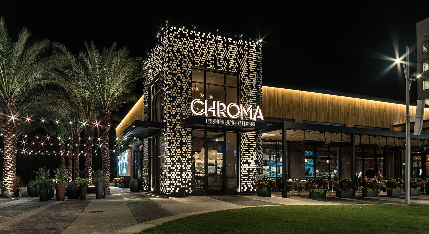 Chroma Modern Bar And Kitchen