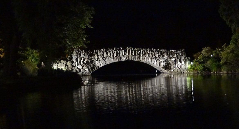 Historic Stone Bridge at Beacon Hill Park