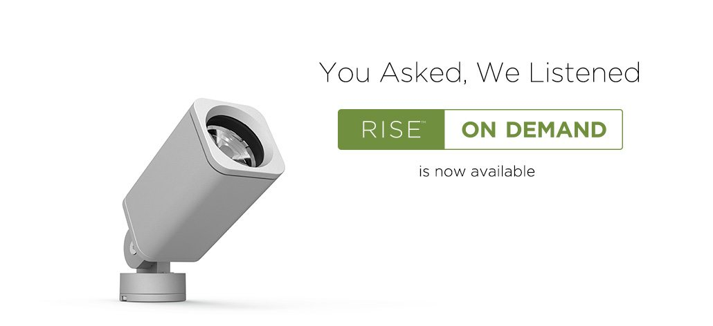 You Asked, We Listened Rise On Demand is now available
